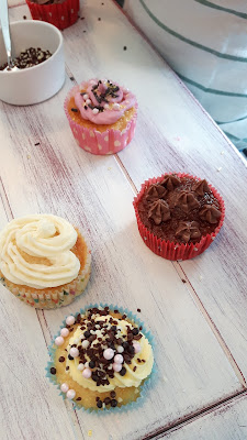 Kindergeburtstag in meiner Backstube! Cupcake-Party für die Kids