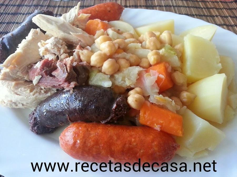cocido madrileño cocina facil