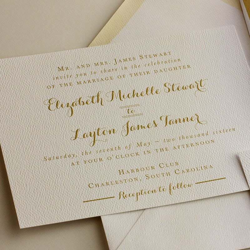 Elegant Wedding Invitation Design: Blush Paperie: Elegant Wedding Invitations