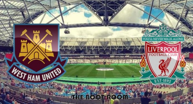 live streaming west ham vs liverpool 5 november 2017