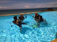 Rescue, PADI, pool