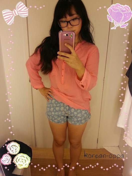 Review || Sheinside Floral Short