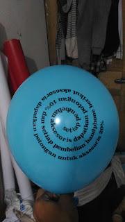 balon cahaya telkom
