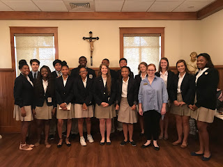 Montgomery Catholic Students Attend 44th Annual Red Mass 1