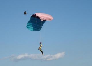 arvinder sky diving
