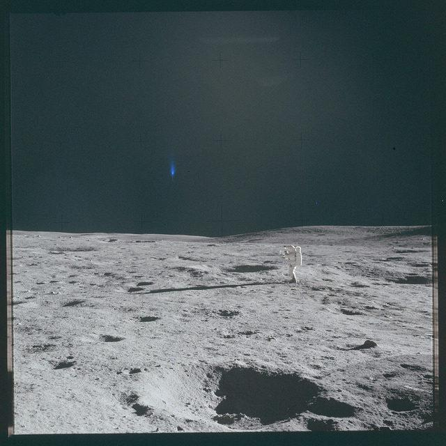 Viewers Point Out Bizarre Objects In Photos From NASA's Apollo Archive