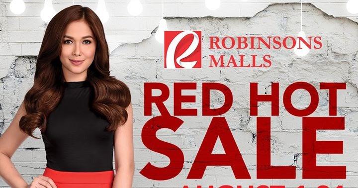 Manila Shopper Robinsons Red Hot Sale August 2017