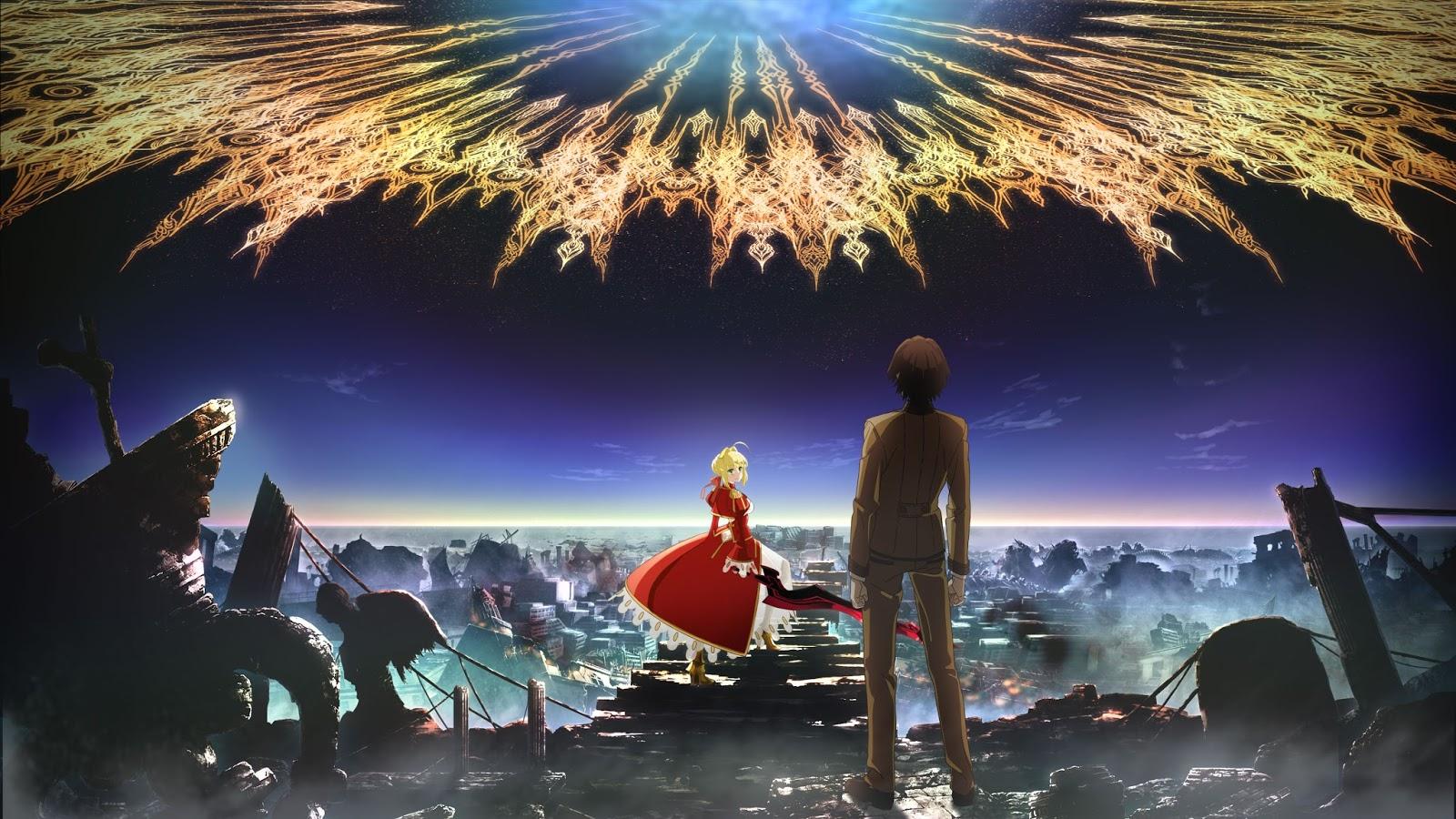 Nuevo anuncio para el anime Fate/Extra Last Encore