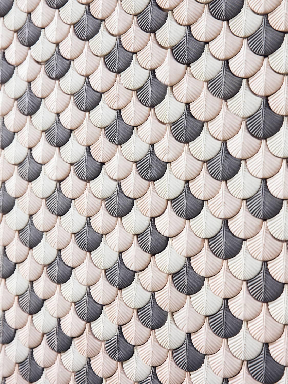 emmanuel chaussade: attico cristina celestino - plumage - botteganove