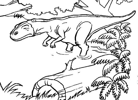 Jurassic Park Desenhos Preto E Branco Para Colorir