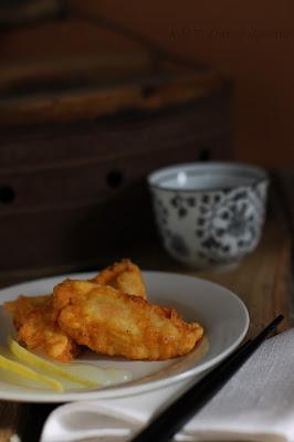 Pollo al limone e vaniglia