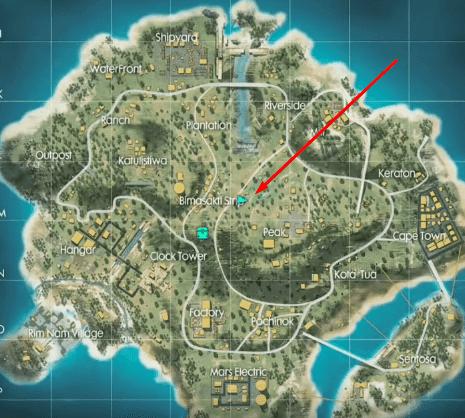 Lokasi Jamur Level 4 FF