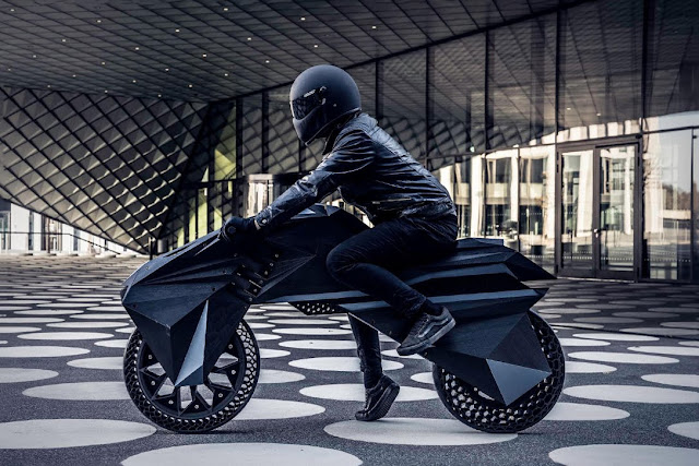 BigRep NERA 3D Electric Motorcycle