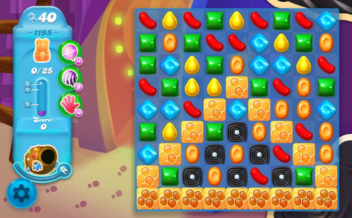Candy Crush Soda Saga level 1195