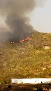Incêndio em Igatu