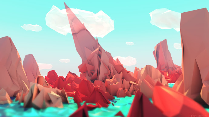 Wallpaper: The Red Mountains