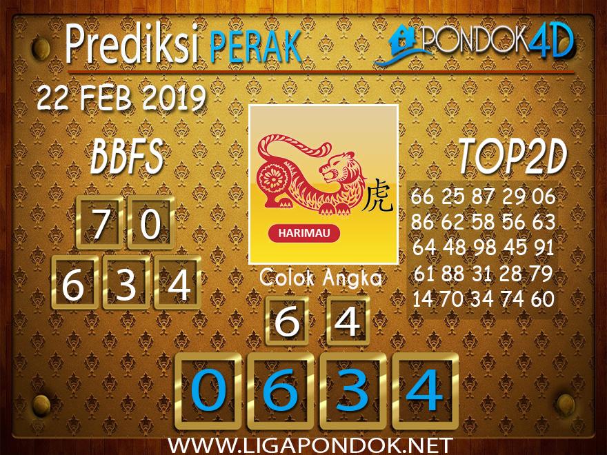 Prediksi Togel PERAK PONDOK4D 22 FEBRUARI 2019