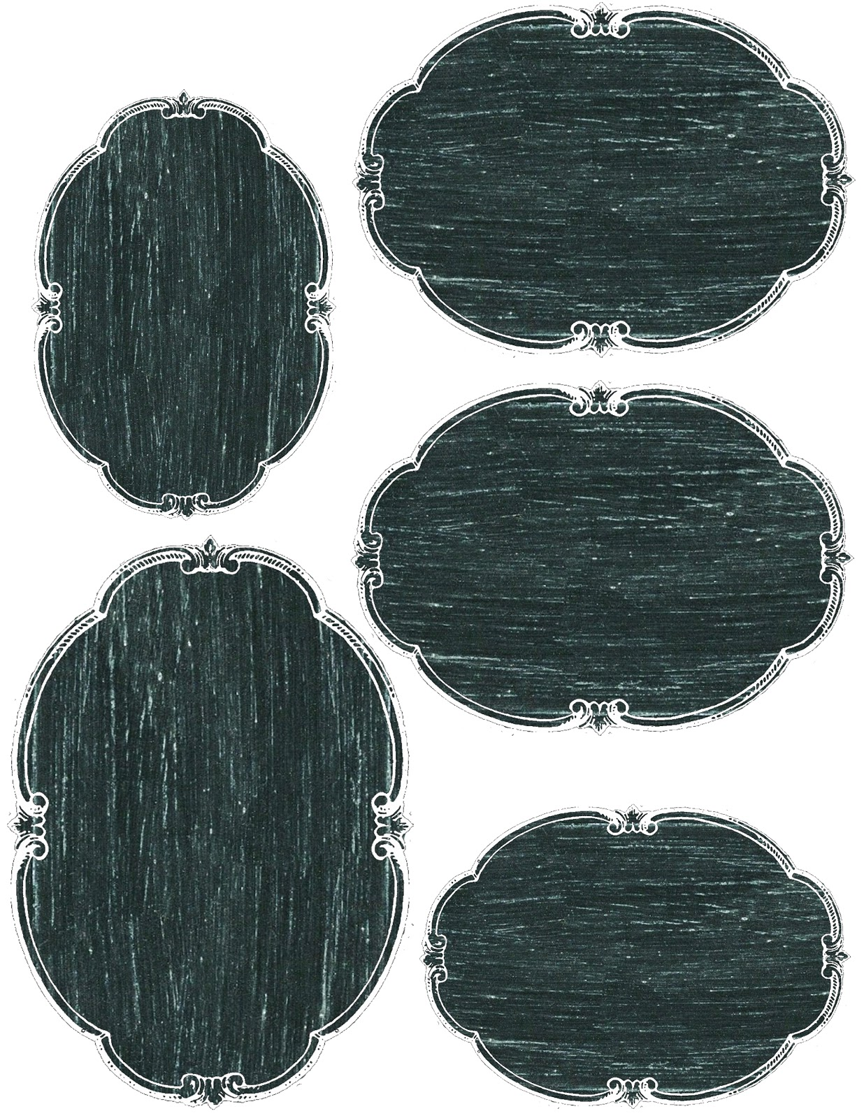 picture about Oval Printable Labels known as Lilac Lavender: Printable Chalkboard tags, labels, and far more!