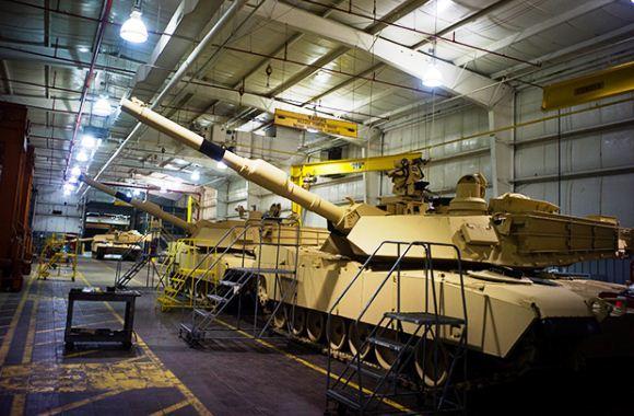 Pabrik pembuatan tank Abrams