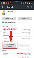 how to move app to sd card in android 2.1