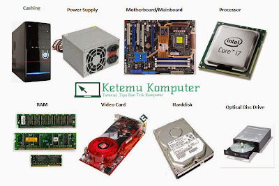 Mengenal Lebih Dalam Komponen - Komponen Komputer Lengkap Dengan Fungsinya