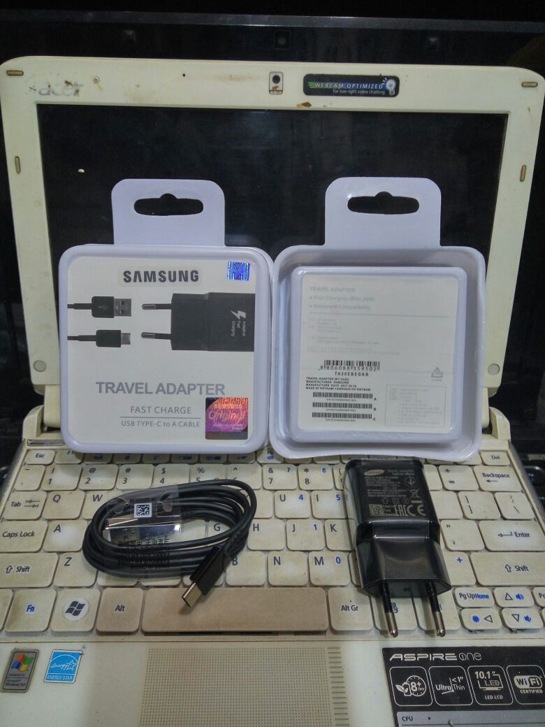 CHARGER ORIGINAL 100 SAMSUNG S8 TYPE C FAST CHARGING