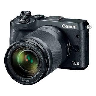 Harga Kamera Mirrorless Canon M6 termurah terbaru dengan Review dan Spesifikasi April 2019