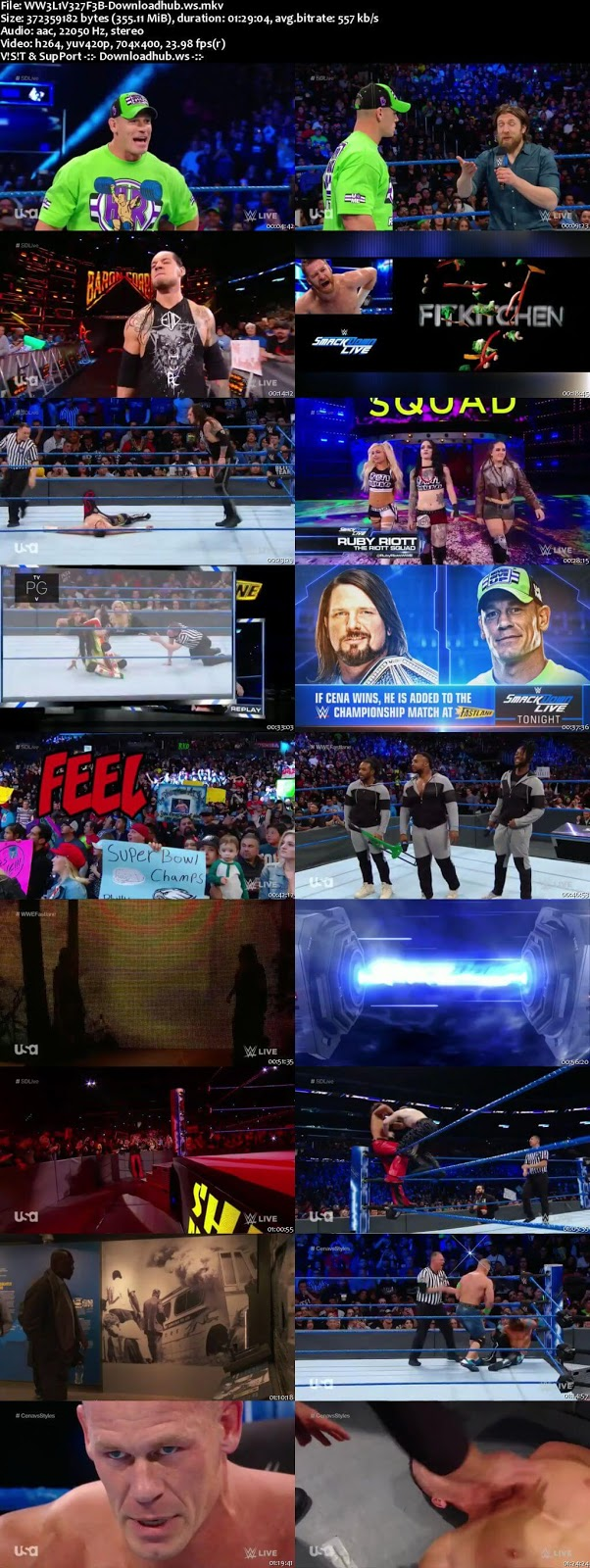 WWE Smackdown Live 27 February 2018 480p HDTV Download