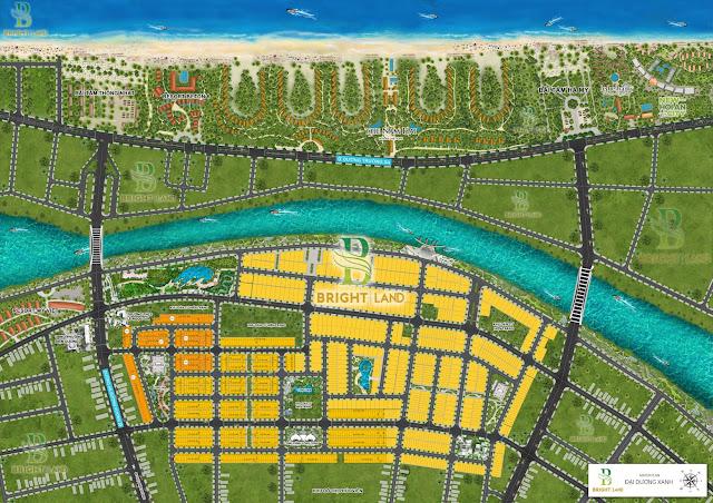 Master plan dự án Ocean Blue