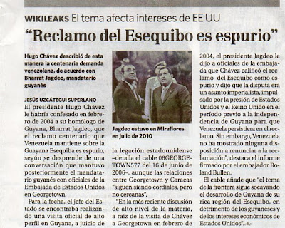 Resultado de imagen para el informe otálvora EL ESEQUIBO
