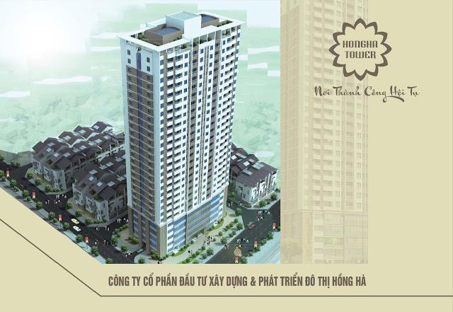 Phối cảnh dự án Hồng Hà Tower