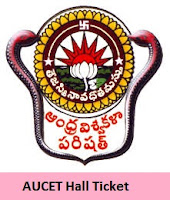 Andhra University CET Hall Ticket