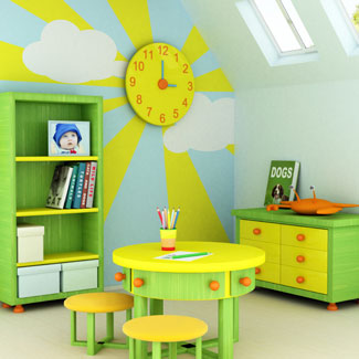 Toddler Bedroom Decor - toddler room design