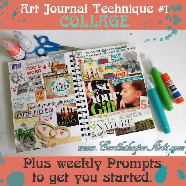 Art Journal Technique: Collage