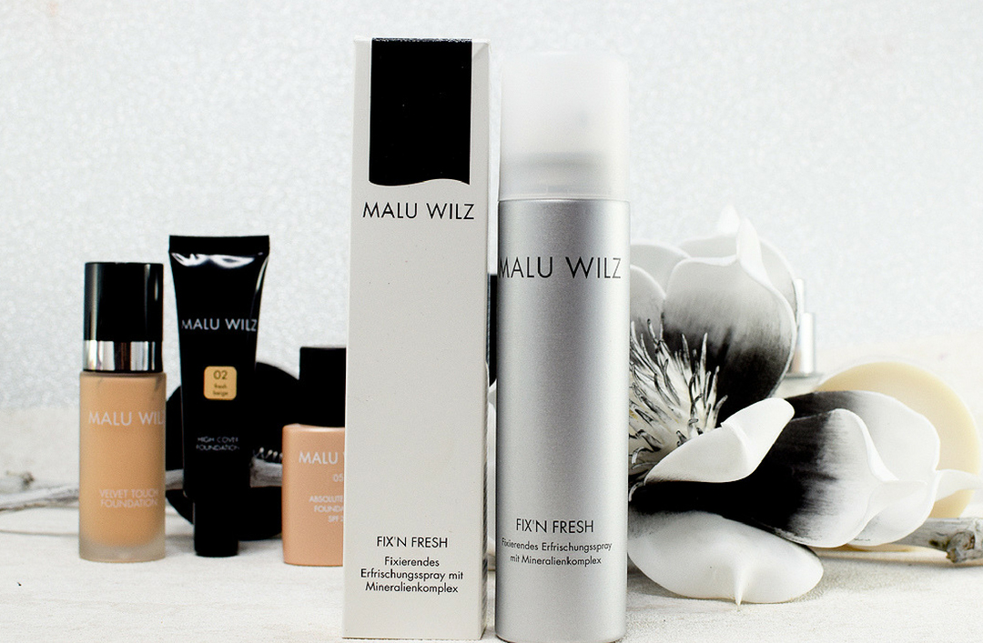 Malu Wilz Fix'n Fresh Spray, Test