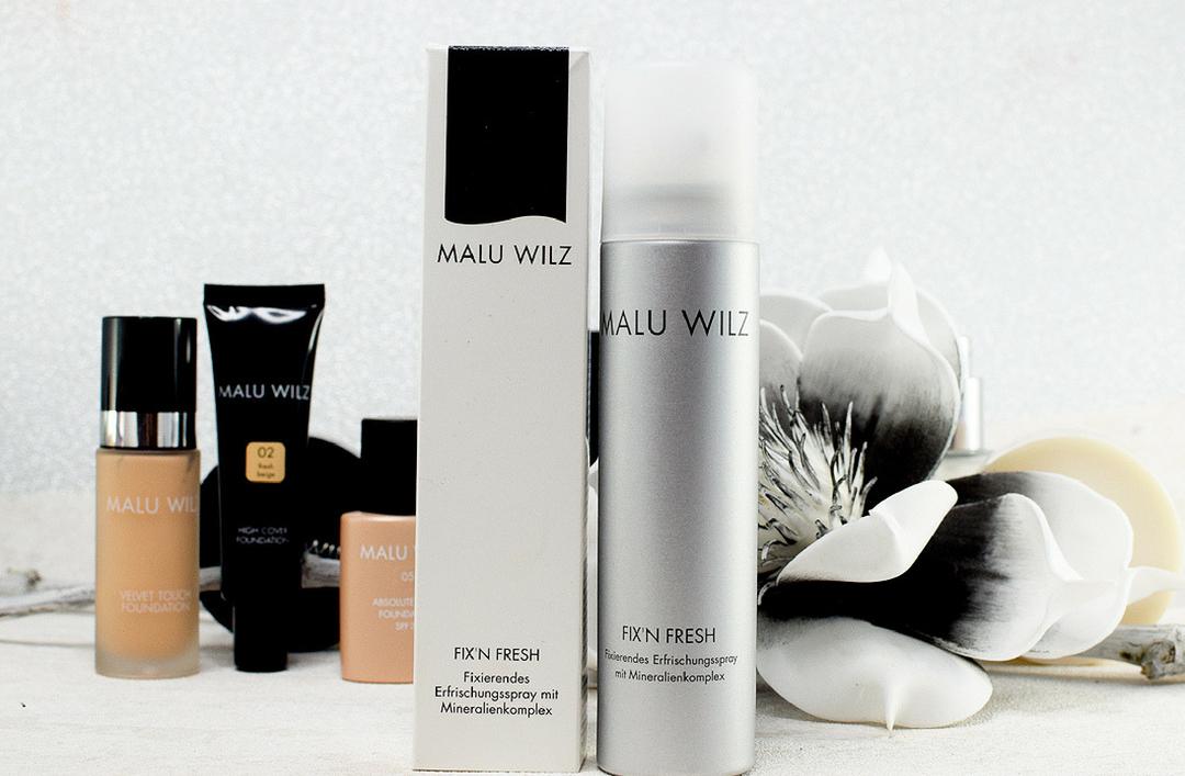 Malu Wilz Fix'n Fresh Spray, Test