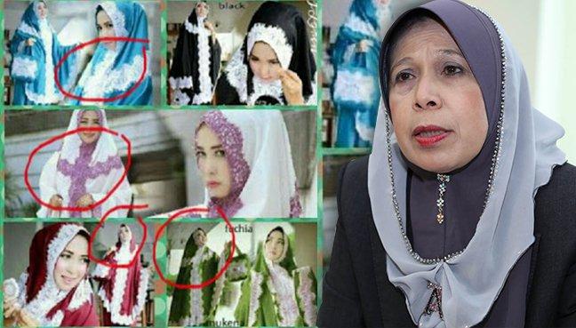 Muncul Mukena Bercorak Mirip Salib di Malaysia, Menteri Jainab: Itu Mengguncang Akidah