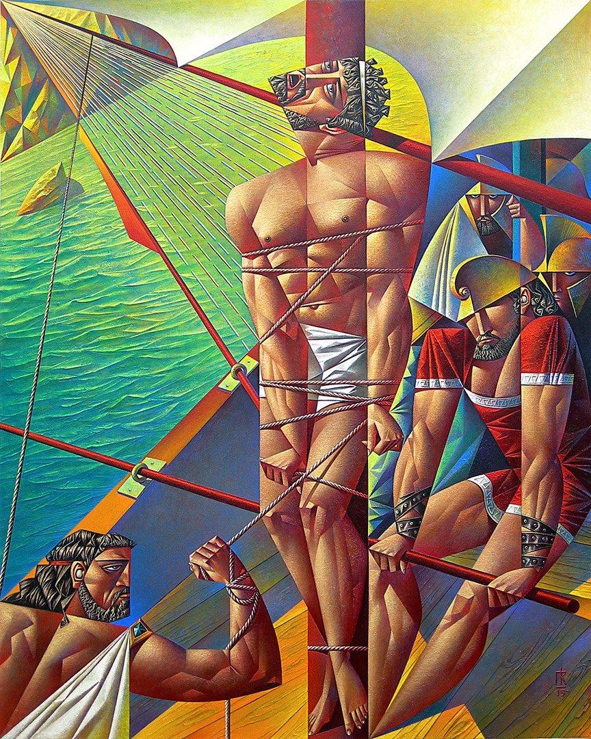 Georgy Kurasov Odysseus sailed past the island of the Sirens