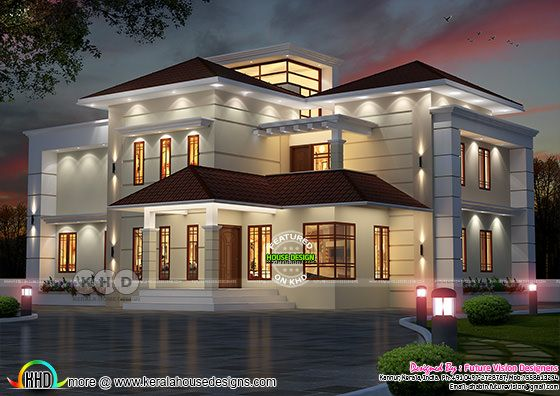 2975 square feet 5 bedroom modern villa