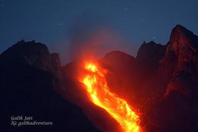 Guguran Lava Merapi