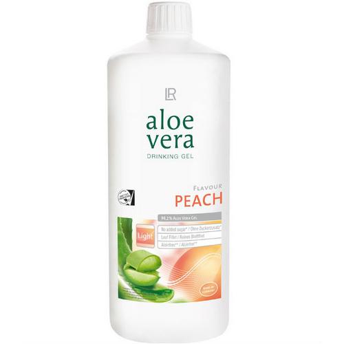 Aloe vera gel à boire Pêche