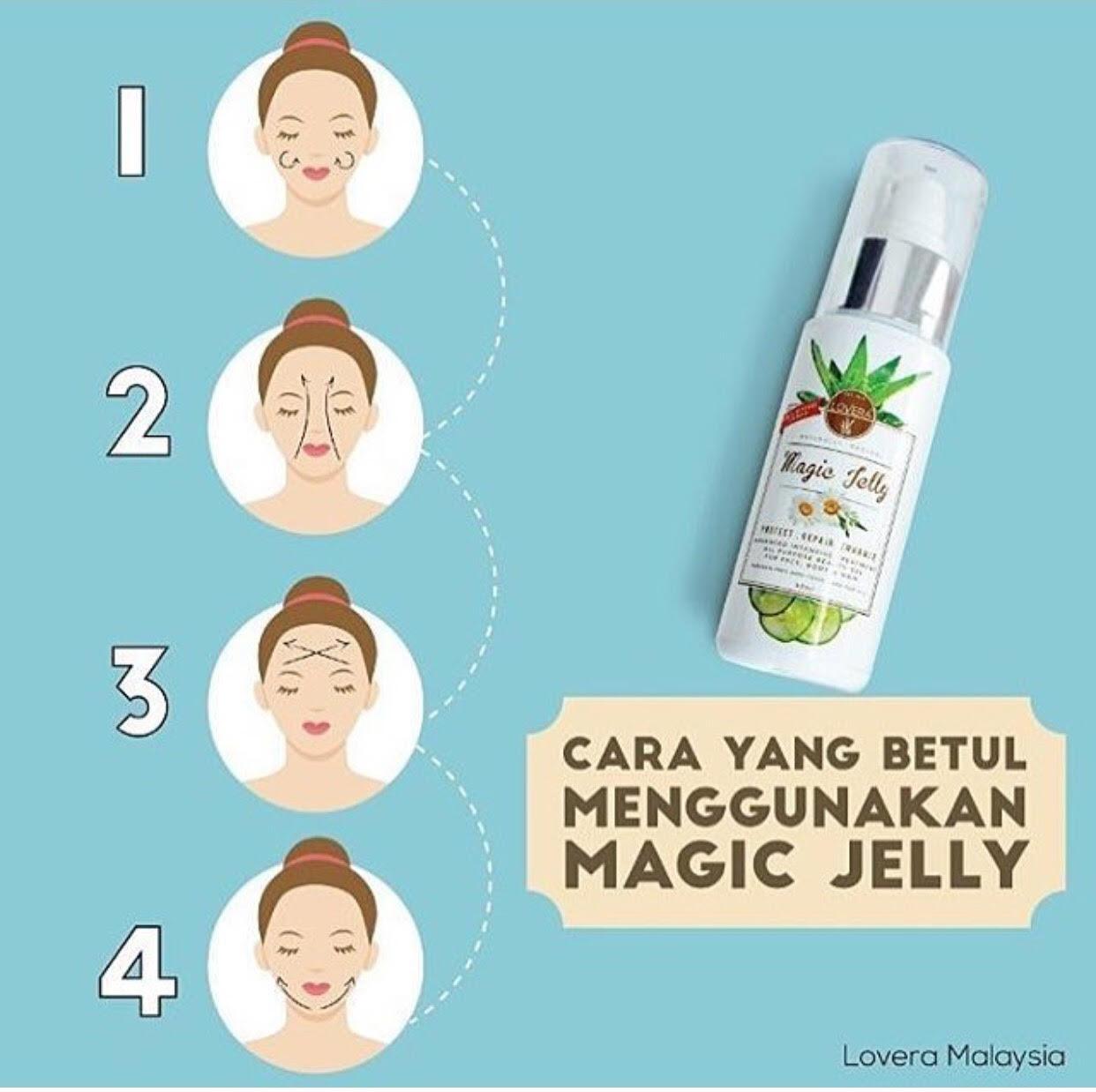 magic jelly lovera, lovera malaysia, produk sesuai untuk keluarga, masalah kulit dan penyelesaiannya