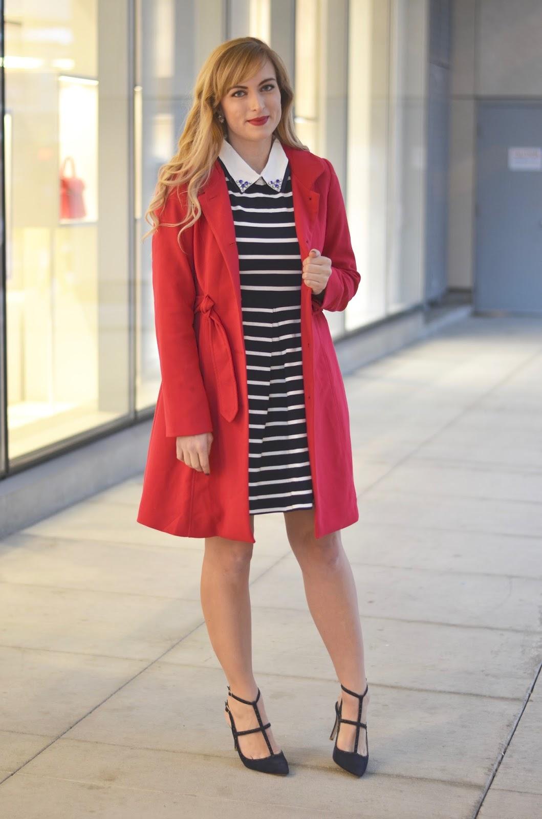 faux-collar-dress