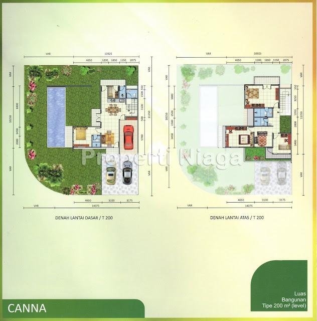 Lay-Out-Emerald-Golf-Tipe-Canna-Sentul-City_1