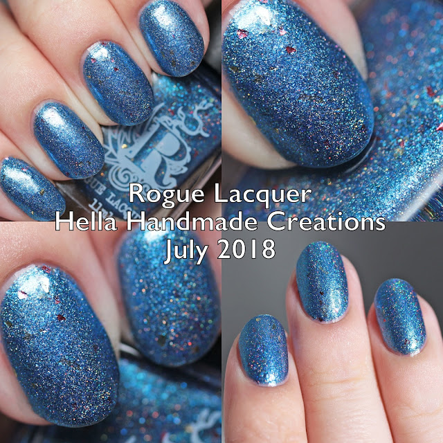 Rogue Lacquer Hella Handmade Creations July 2018