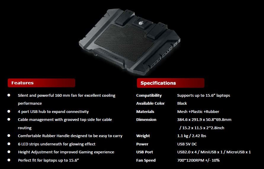 Cooler Master SF-17 and SF-15: Full Force Cooling for Laptop Gaming 2