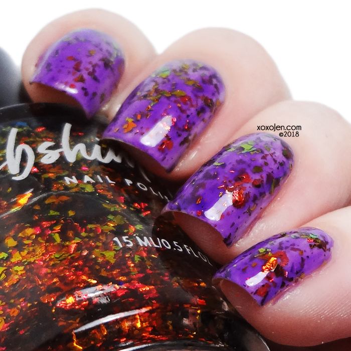 xoxoJen's swatch of kbshimmer Take It Or Leaf It
