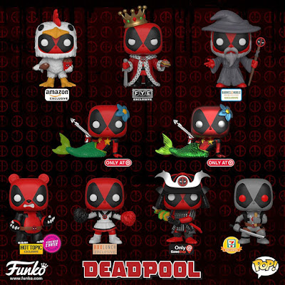 Deadpool 2 Retailer Exclusive Pop! Marvel Vinyl Figures by Funko