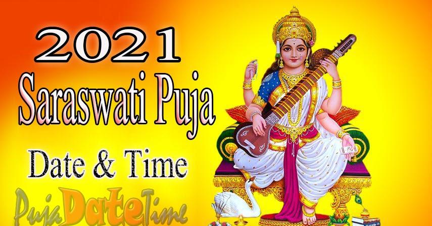 saraswati puja date time basant panchami puja