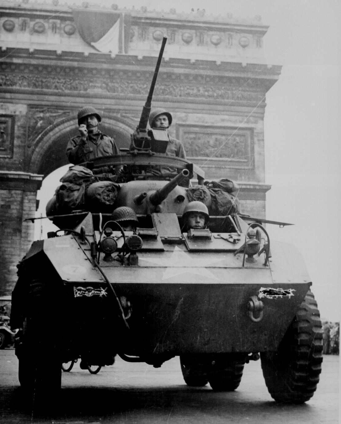 Liberation of Paris - August, 1944.
